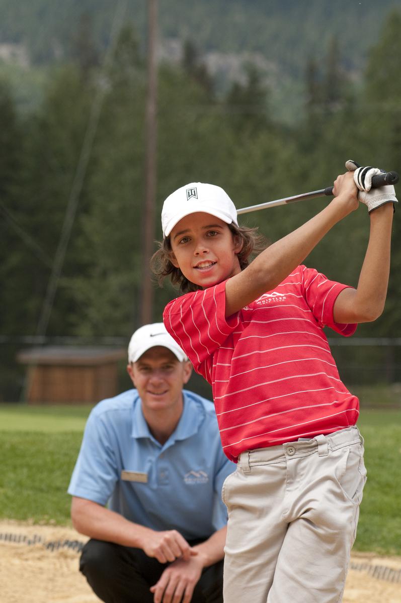 Whistler Golf Junior Clinics